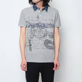 ポロシャツショート袖 (グレー/ブラック)