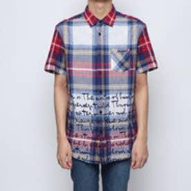 シャツショート袖 (ブルー)