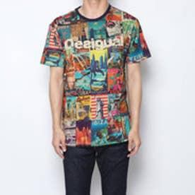 メンズ Tシャツ半袖 (Blue/Navy)