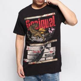 Tシャツショートスリーブ TIGER (グレー/ブラック)