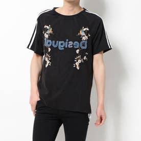 Tシャツ半袖 MALCOM (グレー/ブラック)