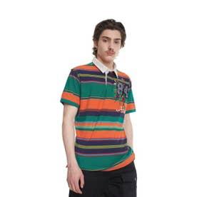 ポロシャツ半袖 BOONE (オレンジ)