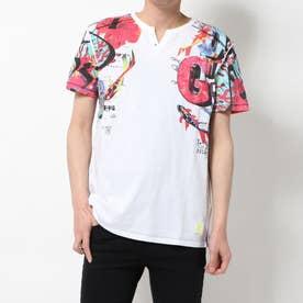 Tシャツ半袖 TSLIAN (ホワイト)