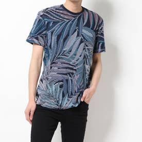 Tシャツ半袖 LOWELL (ブルー)