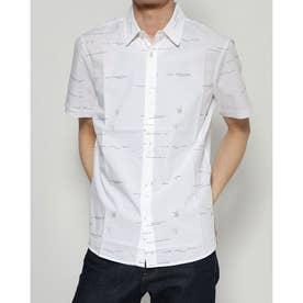 シャツ半袖 EMORY (ホワイト)