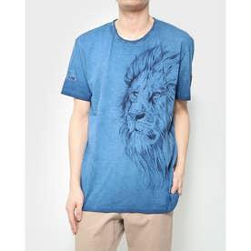 Tシャツ半袖 MADDOX (ブルー)