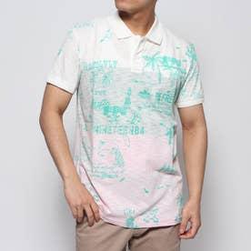 ポロシャツ半袖 BENJAMIN (ホワイト)