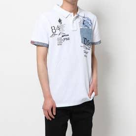 ポロシャツ半袖 BRENDAN (ホワイト)