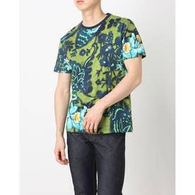 Tシャツ半袖 JUSTIN (グリーン)