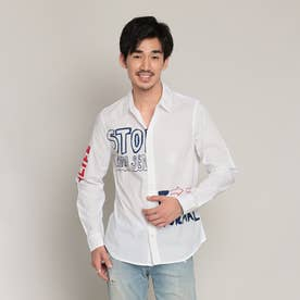 シャツ長袖 KING (ホワイト)