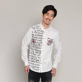 シャツ長袖 GUIDO (ホワイト)