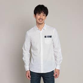 シャツ長袖 LUIS (ホワイト)