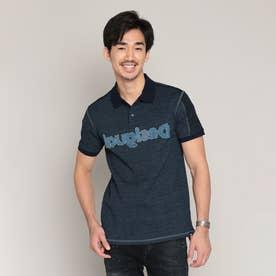 ポロシャツ半袖 PRISCO (ブルー)