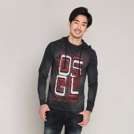 Tシャツ半袖 FELIX (グレー/ブラック)