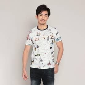 Tシャツ半袖 VICTOR (ホワイト)