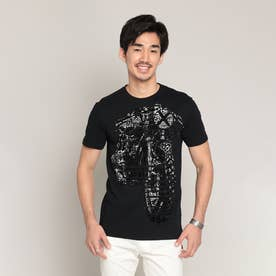 Tシャツ半袖 GERMAN (グレー/ブラック)