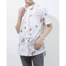シャツ半袖 AGAPITO (ホワイト)