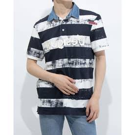 ポロシャツ半袖 JULIEN (ブルー)