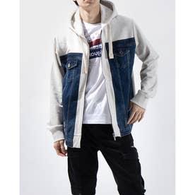 スウェットジャケット JERRY (グレー/ブラック)