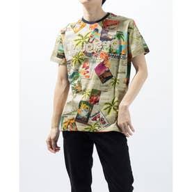 Tシャツ半袖 CATON (ブラウン)