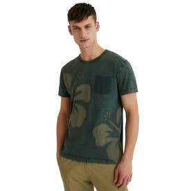 メンズ Tシャツ半袖 ADLEY (グリーン)