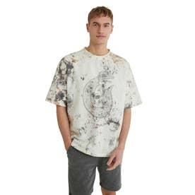 メンズ Tシャツ半袖 ALEXANDER (ホワイト)