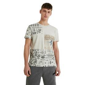 メンズ Tシャツ半袖 JASON (ホワイト)