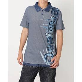ポロシャツ POLO_DAVIDE_REP (ブルー)
