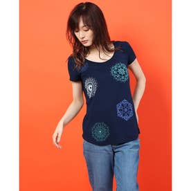 Tシャツショート袖 (ブルー)