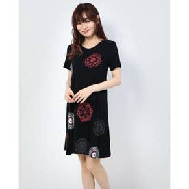 ドレスショート袖 (グレー/ブラック)