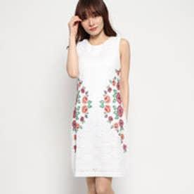 ドレス袖なし (ホワイト)