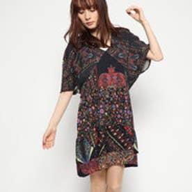 ドレス3/4袖 (Grey/Black)