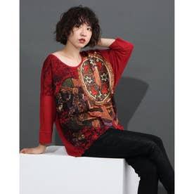 Tシャツ スリーブ TAISU (ピンク/レッド)