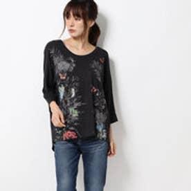 Tシャツ スリーブ KEILA (グレー/ブラック)