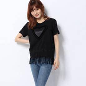 Tシャツショートスリーブ BLU (グレー/ブラック)