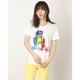 Tシャツショートスリーブ VIVECA (ホワイト)