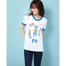 Tシャツショートスリーブ BURST (ホワイト)