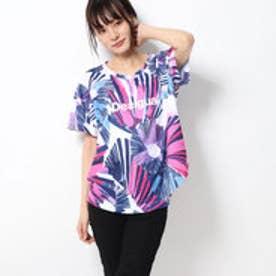 Tシャツショートスリーブ TEE OVERSIZE ARTY (ホワイト)