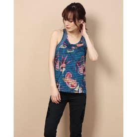 Tシャツストラップ TANK TOP STRIPES ETHNIC (ブルー)