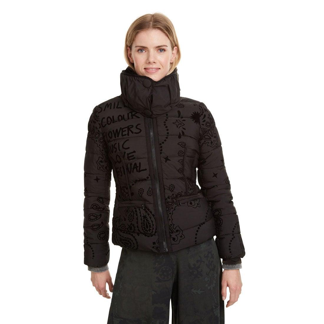 Desigual Damen Coat Sunna Daunenmantel