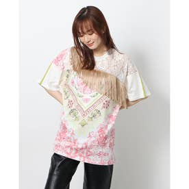 Tシャツ半袖 MONIQUE (ホワイト)