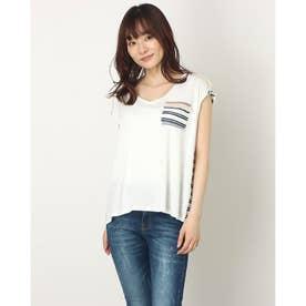 Tシャツ半袖 AERONA (ホワイト)