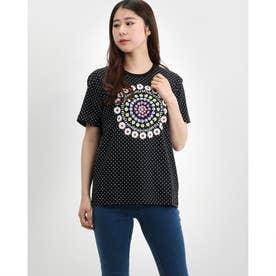 Tシャツ半袖 RIGA (グレー/ブラック)