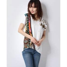 Tシャツ半袖 ATENAS (ホワイト)