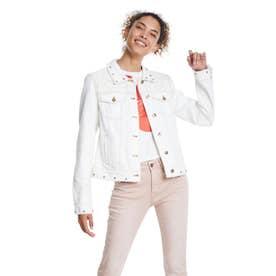デニムジャケット BARROC (ホワイト)
