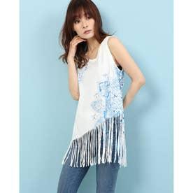 Tシャツノースリーブ FLECOS (ホワイト)