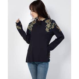 Tシャツ長袖 TOLOUSE (ブルー)