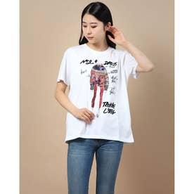 Tシャツ半袖 VIENA (ホワイト)