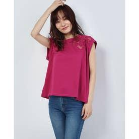 Tシャツノースリーブ LISBOA (ピンク/レッド)