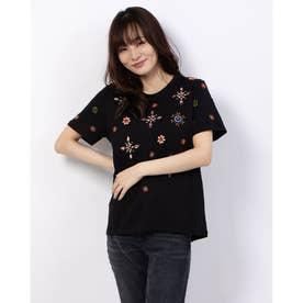 Tシャツ半袖 BRI-YOU (グレー/ブラック)